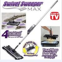 swivel sweeper / alat sapu pel kain lap kemoceng pembersih lantai