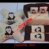 Bantal Mobil Baby Tazmania 3in1