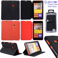 Jual Capdase Sider Baco Leather Flip Case Dompet Cover Nokia Lumia 625