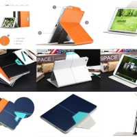 Jual Rock Excel Leather Flip Case Cover iPad Mini Retina - Retina 2