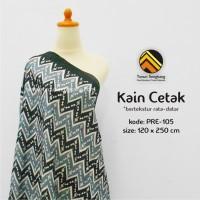 Kain Tenun Cetak (Kode Produk: PRE-105) by Tenun Sengkang