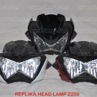 Replika Headlamp Batok Z250 Vixion Byson Scorpio CB150R Verza Mega Pro