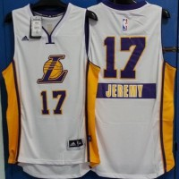Jersey NBA Christmas LA Lakers Jeremy Lin #17, Swingman Revo30