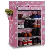 New Pink Shoe Rack Organizer Rak Susun Lemari Sandal Sepatu