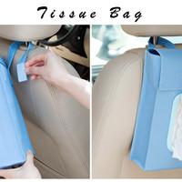 Tissue Bag (Tas untuk tempat Tissue, bisa digantung/diletakkan di meja