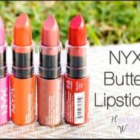 NYX Butter Lipsticks Original