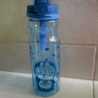 Botol Minum Transparant Doraemon