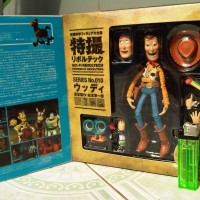 ACTION FIGURE TOY STORY REVOLTECH WOODY