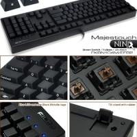 Filco Majestouch II Ninja Fullsize Blue/Brown Switch Mechanical kboard