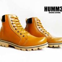 Sepatu Boot Humm3r Mercon Brown Tan