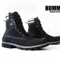 Sepatu Boot Humm3r Mercuri Meteor Black