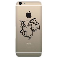 Tokomonster Decal Sticker Apple iPhone - Pokemon Pikachu Raichu - 4Pcs