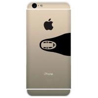 Tokomonster Decal Sticker Apple iPhone - No Face Spirited Away - 4 Bua