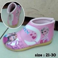 Sepatu Frozen (resleting belakang)