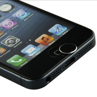 Metal Aluminum Home Button Sticker for iphone