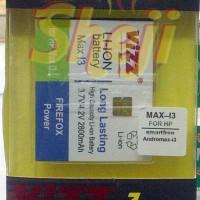 Baterai/Battery VIZZ for SMARTFREN ANDROMAX i3- 28