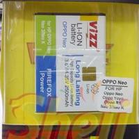 Baterai/Battery VIZZ for oppo neo, neo 3, neo k, y
