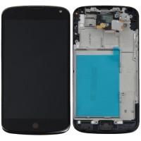 LCD Touchscreen digitizer plus frame Nexus 4 E960