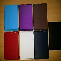 Flipcover cover case sony xperia L S36H