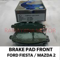 BRAKE PAD / KAMPAS REM DEPAN FORD FIESTA & MAZDA 2