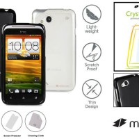 Jual Softcase Melkco Jacket Soft Silikon Cover Case HTC Desire VC - XC