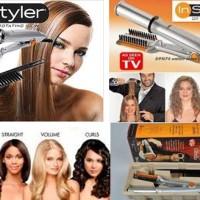instyler rotating hair 2in1, catok rambut keriting dan lurus in styler