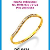 Perhiasan Lapis Emas ZHULIAN - GELANG TANGAN / BANGLES DG-5421