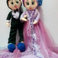 Harga boneka hijab mini miuchan meymey alan versi wedding | Pembandingharga.com