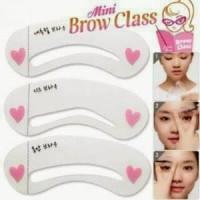 CETAKAN ALIS / MINI BROW CLASS (3 MOTIF)