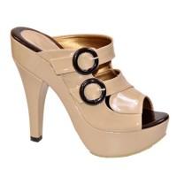 Sepatu High Heel Wanita Cewek Hak Tinggi Kantor Pantofel Kerja ABB750
