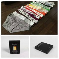 3 Pcs Pack Calvin Klein Steel Microfiber Low Hip Briefs.