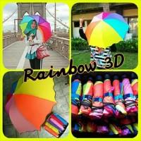 Payung Magic 3D MURAH Pelangi Lipat Rainbow Ajaib
