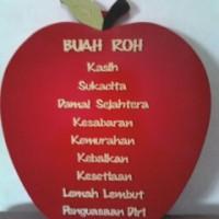 BUAH ROH apel merah INDONESIA