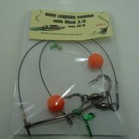 Senar Leader Wire mata pancing 3/0, max 50lb/25kg