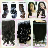 Hair clip korean long hair fiber high quality
