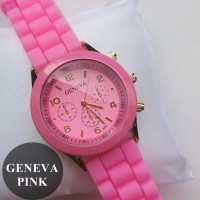 Jam Tangan Geneva Pink