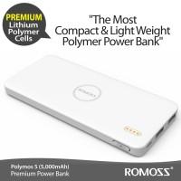 ROMOSS Polymos 5 5000 mAh Li Polimer Cell Premium ( BEST SELLER )