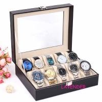 Watch Organizer leather box (10)/Kotak Jam Tangan Leather Eksklusif