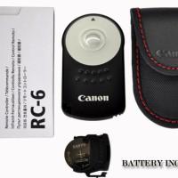 Wireless Remote Control Canon RC-6 /Merk CANON