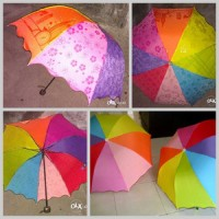 payung lipat rainbow 3D
