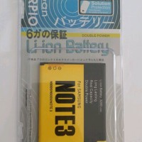 Baterai Samsung Galaxy Note 3 N9000 N9006 Double Power Garansi 6 Bulan