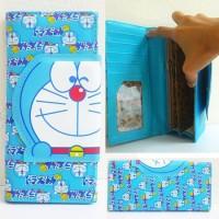 Dompet Panjang Doraemon Kepala Banyak