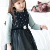 Baju Anak - Ribbon Dress (GI-570)
