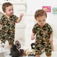 Baju Anak - Romper Army (RO-037)