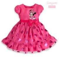 Baju Anak - Minnie Ribbon Dress (GI-573)