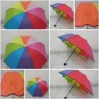 Rainbow Magic Umbrella ( Pelangi 3D )