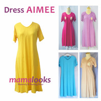 Dress Hamil Menyusui Mamalooks AIMEE
