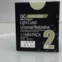 GC Lightcure Mini Pack Untuk Lem Laser Behel & Bahan Tambal Laser
