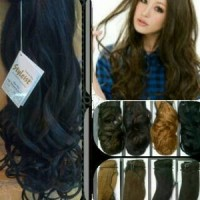 Hair Clip 3 Layer Curly / Lurus Styleist hairclip