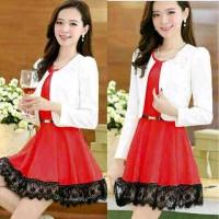 Elisa Red Dress